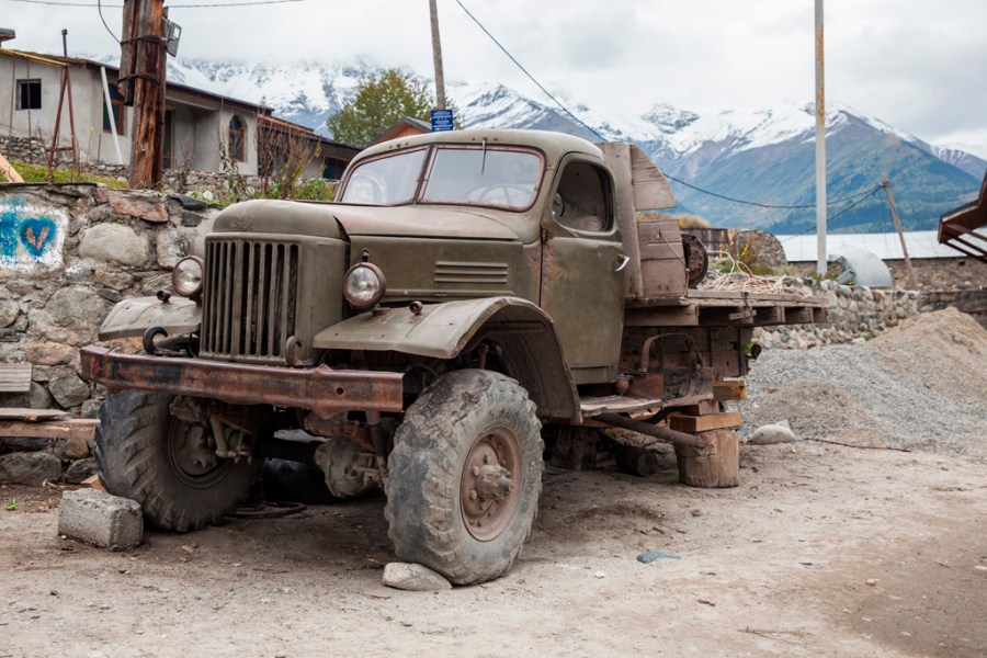 Najsłynniejsza ciężarówka - wszyscy robią jej zdjęcia :)