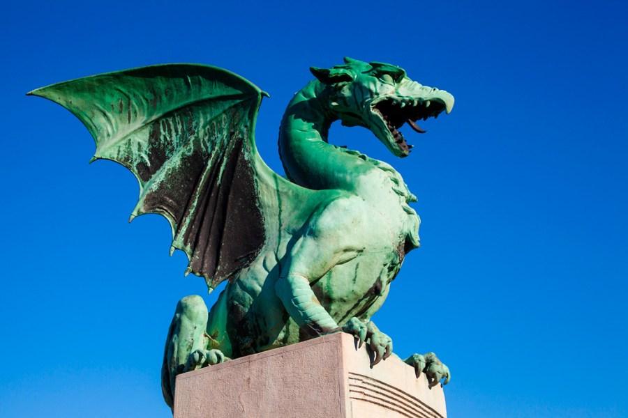 Zielony smok - symbol Ljubljany