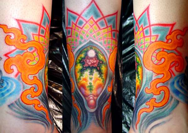 The best psychedelic tattoos on the planet psychedelic for Cory james tattoo