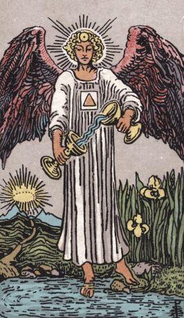 Tarot's temperance Card
