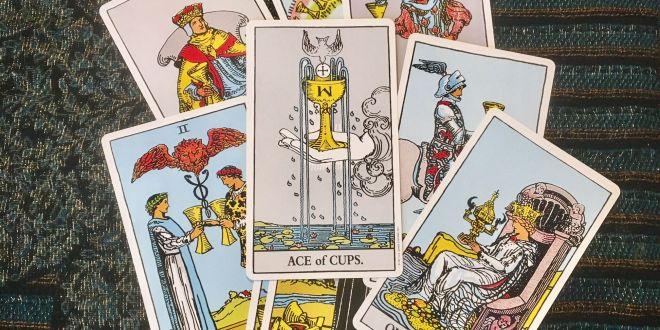 CUPS TAROT CARDS