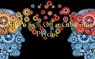 ENJOY 85% Off at Gibsonton Psychic