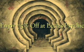 Nyd 75% Off på Eccles Psychic