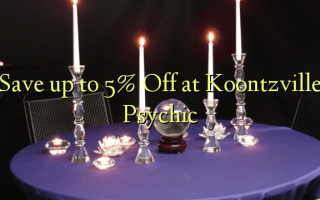 Save up to 5% Off at Koontzville Psychic