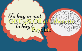 GET 5% Off at Urbanette Psychic