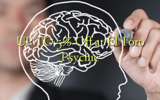 UP TO 5% Off at El Toro Psychic