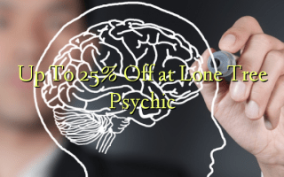Up To 25% Off at Lone Tree Psychic