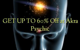 FÅ OP TIL 60% Off på Akra Psychic
