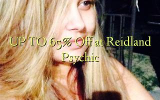 OP TIL 65% Off på Reidland Psychic