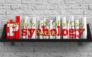 Get up to 20% Off at Cora Psychic