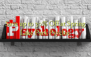Save up to 30% Off at Spring Lake Park Psychic