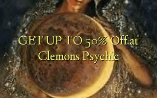 Pata hadi 50% Toa kwenye Clemons Psychic