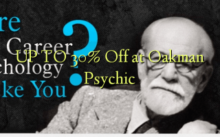 UP TO 30% Off at Oakman Psychic