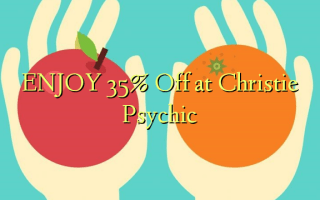 Nyd 35% Off på Christie Psychic