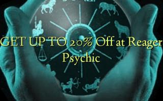 FÅ OP TIL 20% Off ved Reager Psychic