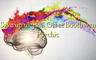 Spar op til 30% Off ved Boothwyn Psychic