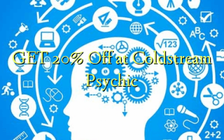 GET 20% Off at Coldstream Psychic