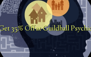 Get 35% Off at Guildhall Psychic