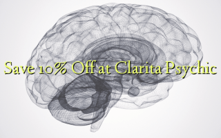 Save 10% Off at Clarita Psychic