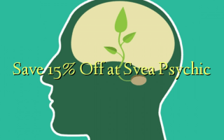 Gem 15% Off på Svea Psychic