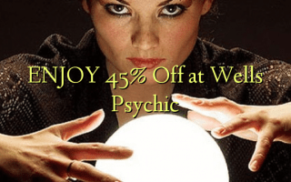 Nyd 45% Off på Wells Psychic