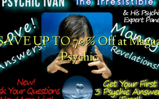 SAVE UP TO 70% Off at Magna Psychic