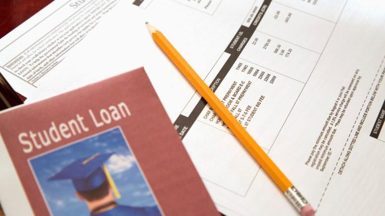 Student loan paperwork