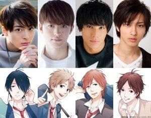 Nijiiro Days live action is underway! Takasugi Mahiro, Nakagawa Taishi, Sano Reo, and Yokohama Ryusei star!