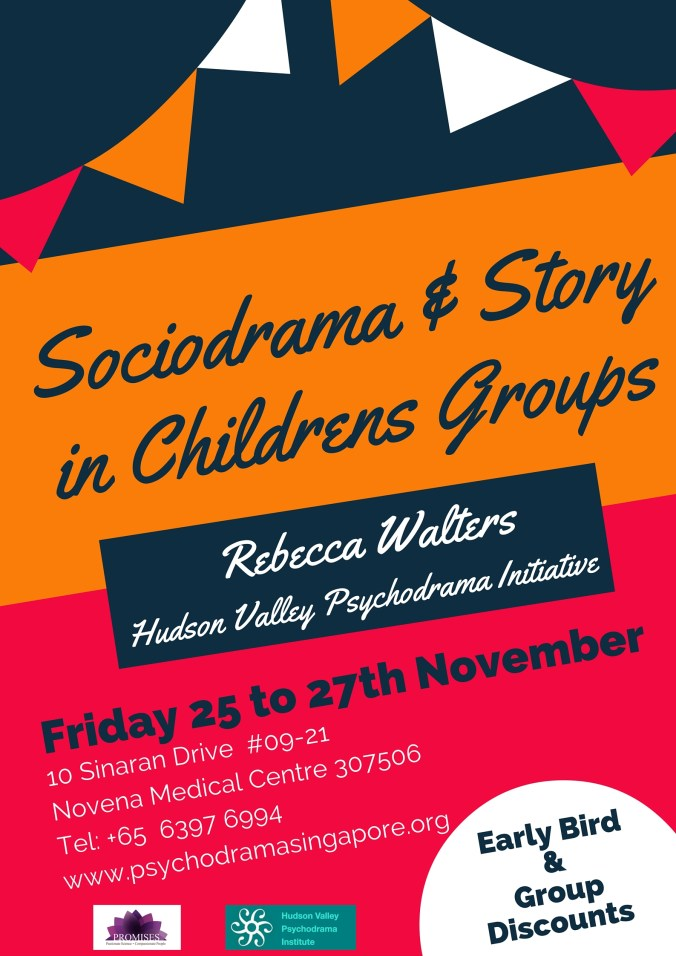 Sociodrama and Story in Childrens Groups by Rebecca Walters Singapore