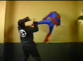 Spidey fight Wall