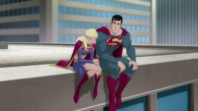 Superman Unbound Supergirl and Superman