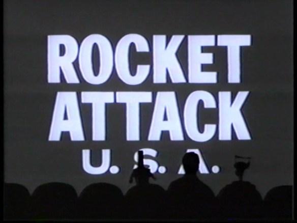 mst3k xxvii - rocket attack title