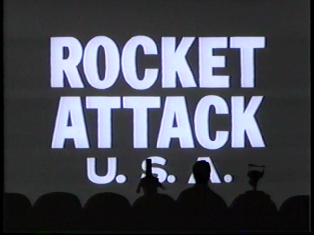 mst3k xxvii - rocket attack title