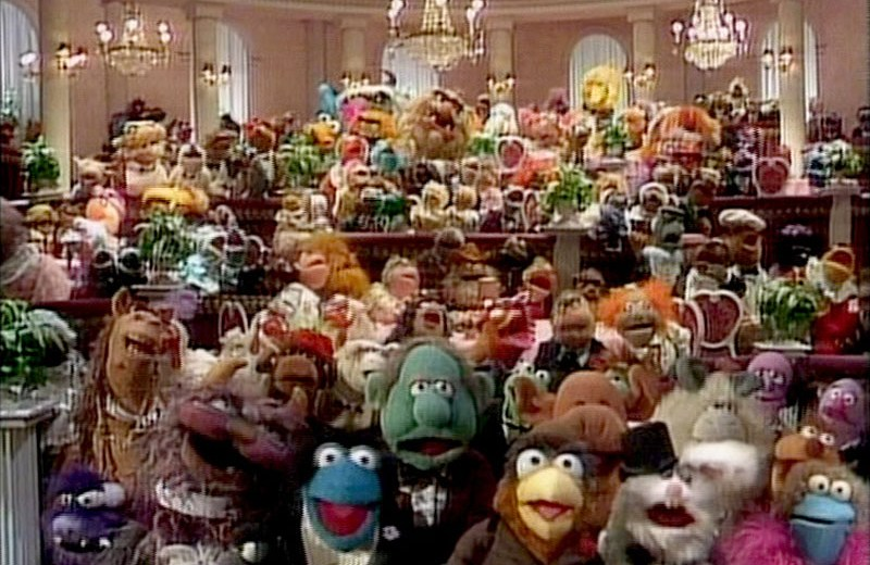 The Muppets A Celebration Of 30 Years 1986 Psycho Drive In