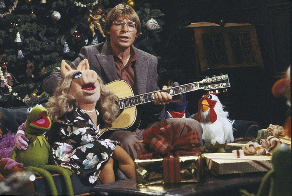 John Denver Christmas.John Denver And The Muppets A Christmas Together 1979