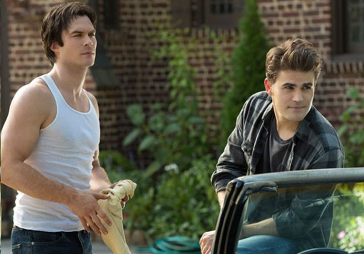 vampire diaries stefan-and-damon-in-the-1990s