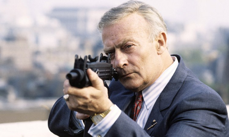 Edward Woodward in The Equalizer