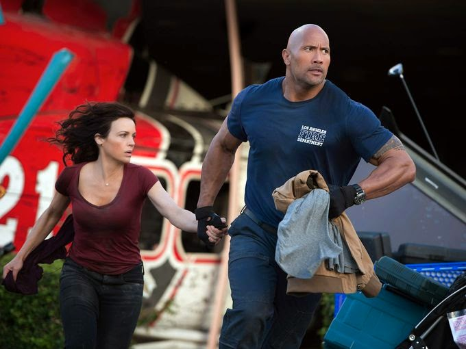 San Andreas Dwayne Johnson earthquake