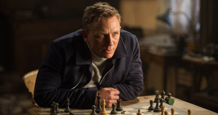 Daniel Craig Spectre James Bond movie