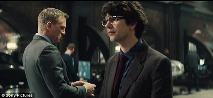 Spectre Ben Whishaw Q Daniel Craig James Bond
