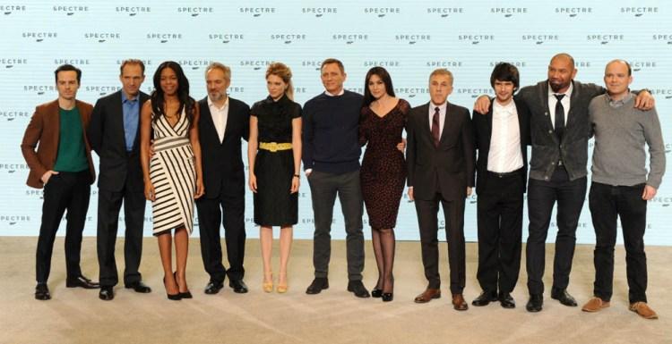 Spectre James Bond cast