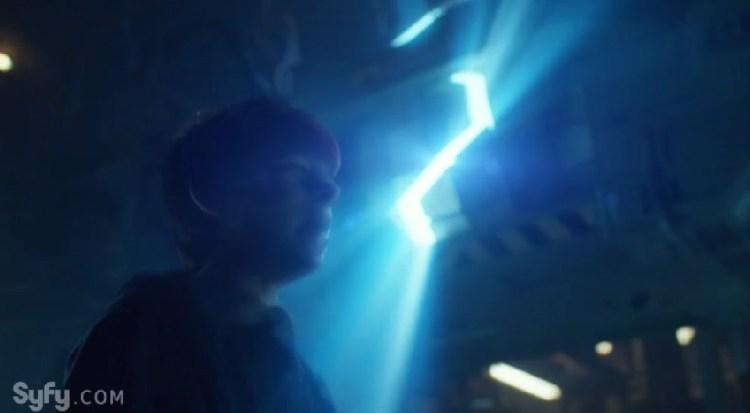 Sam Receives a Feedback Lightning Bolt of Splinter Radiation