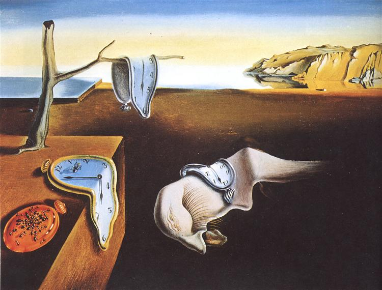 The Persistence of Memory by Salvadore Dali