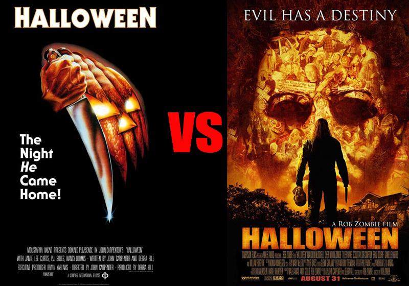 Halloween Rob Zombie Remake.Halloween 1978 Vs Halloween 2007 Psycho Drive In