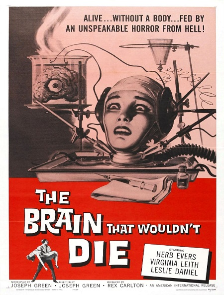 brain wouldn't die poster