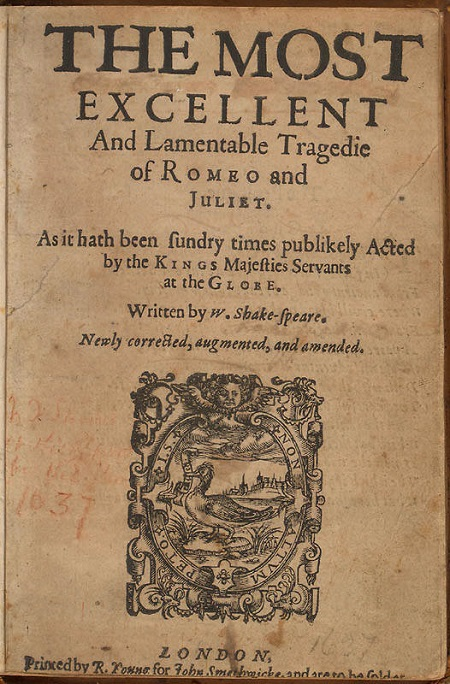 when was romeo and juliet written