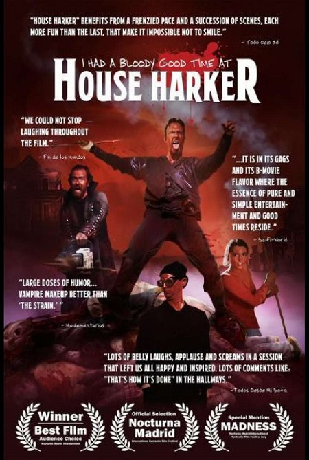 i had a bloody good time at house harker review