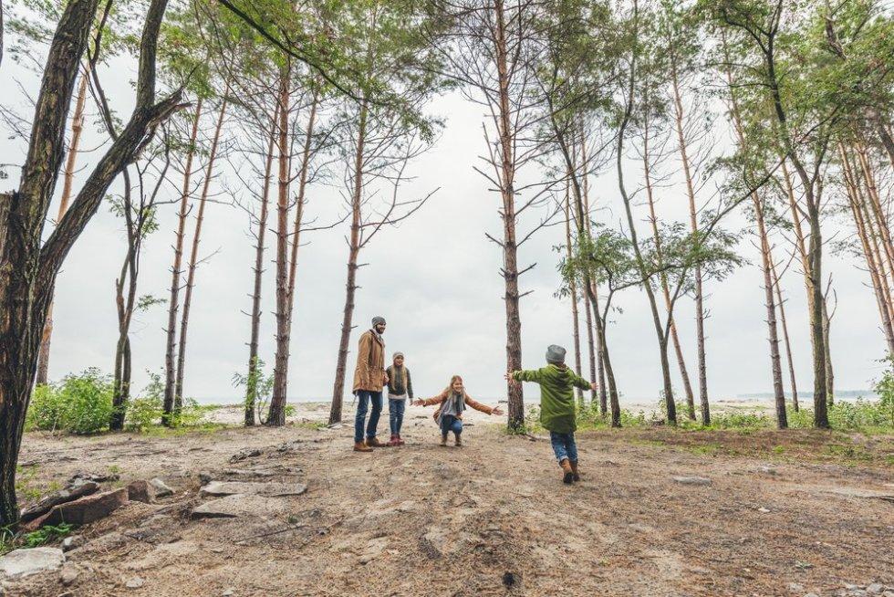 Thuisisolatie met kinderen - ga naar buiten