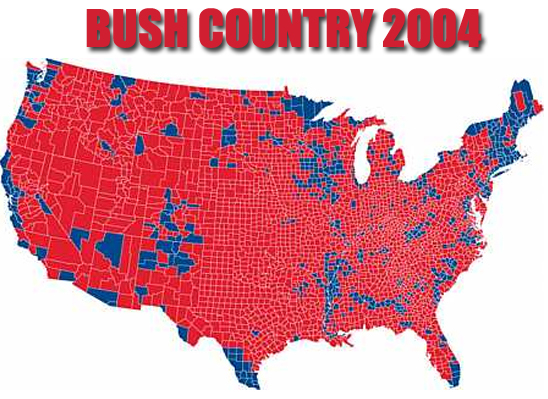 Bush Country 2004