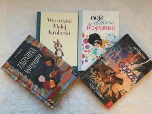 20181227_222952141980422-300x225 Wartości zaklęte w opowieściach dla dzieci: 4 wartościowe opowieści od Wilga: Zaginiona księgarnia, Dom na górze, Wielki dzień Małej Króliczki oraz Moja wspaniała przyjaciółka .